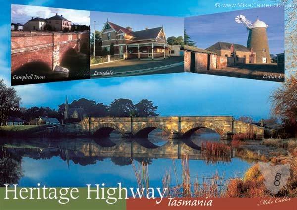 heritage highway tasmania