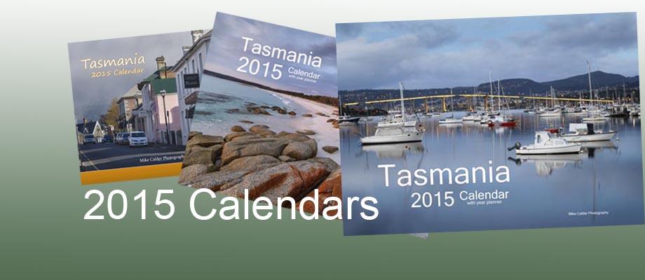 2015 Tasmanian Calendars