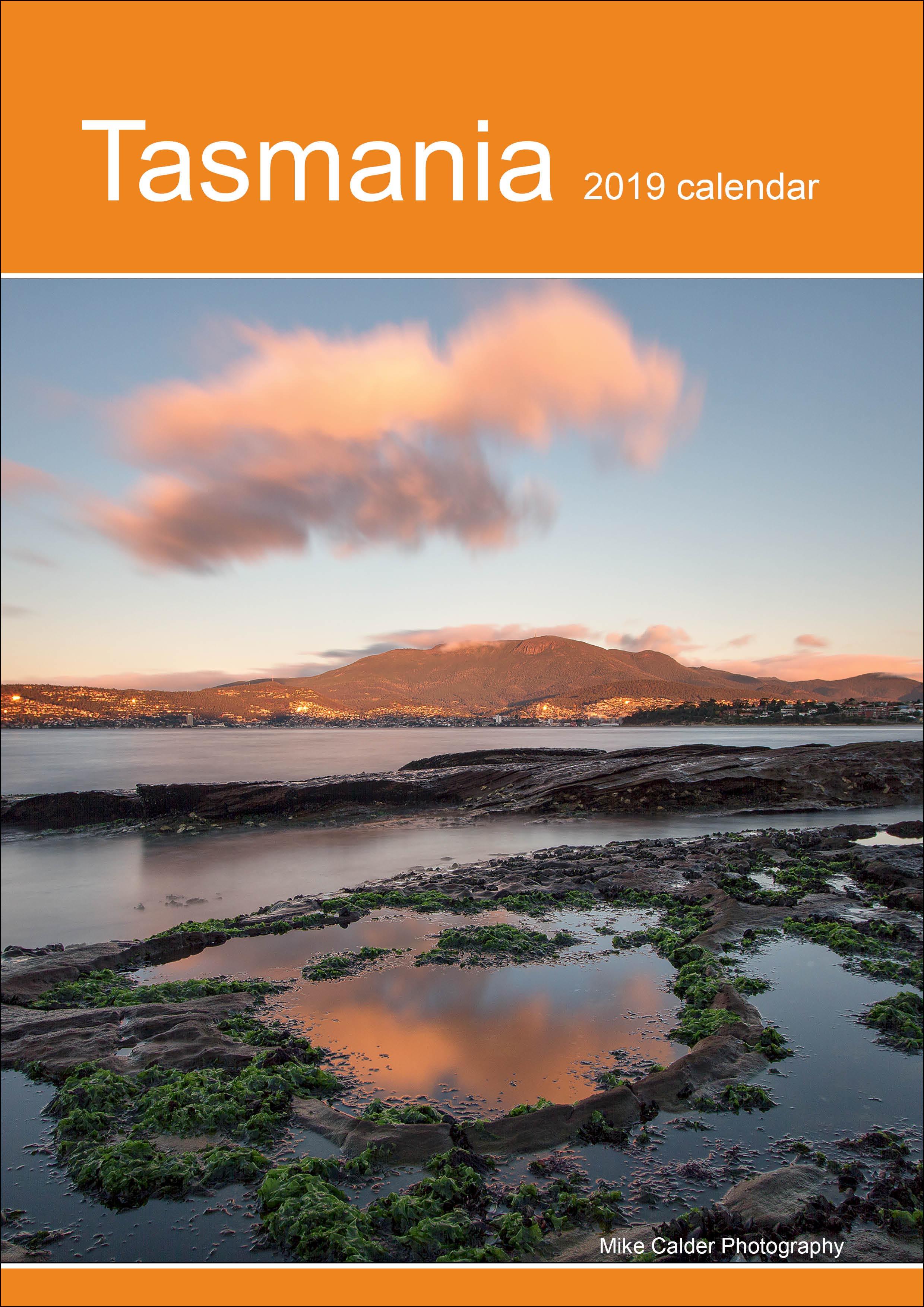 A4 Vertical Calendar front cover
