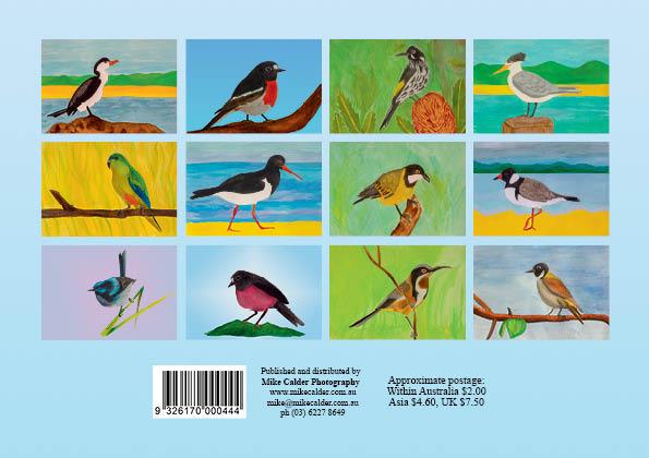 A5 Bird Calendar cover2