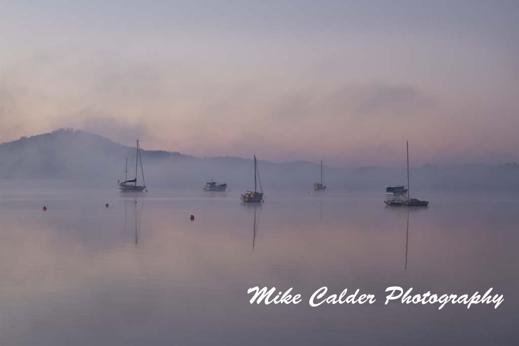 Sunrise at Beauty Point, Tamar River
