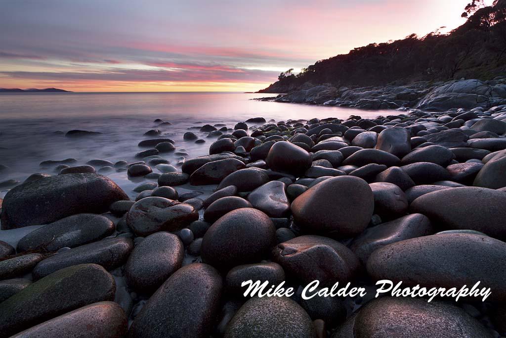 Sunrise at Bluestone Bay