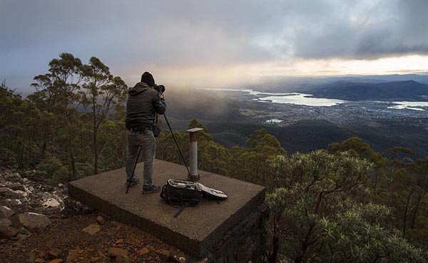 Dawn from Mt Wellington