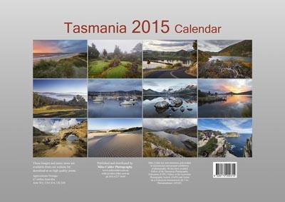 jumbo calendar back cover